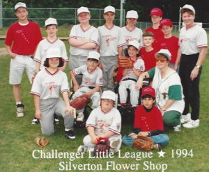 Challenger Little League Team Photo