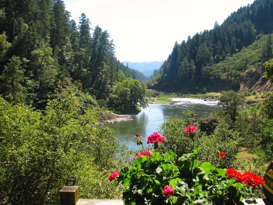 Rogue River View From Clay Hill Lodge